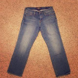 Lucky brand Sofia Capri jeans
